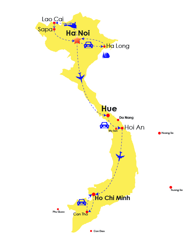 Travel Vietnam 10 days